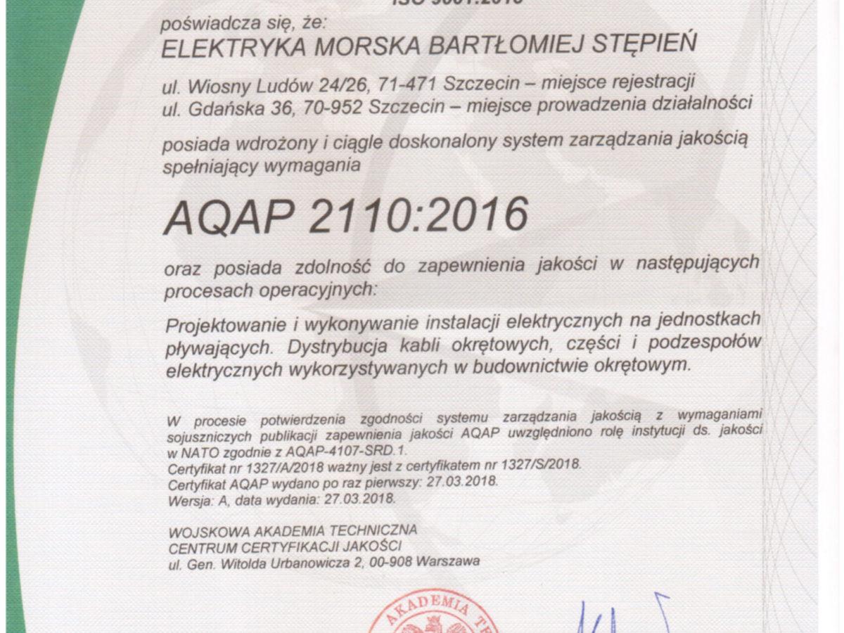 AQAP 2110:2016