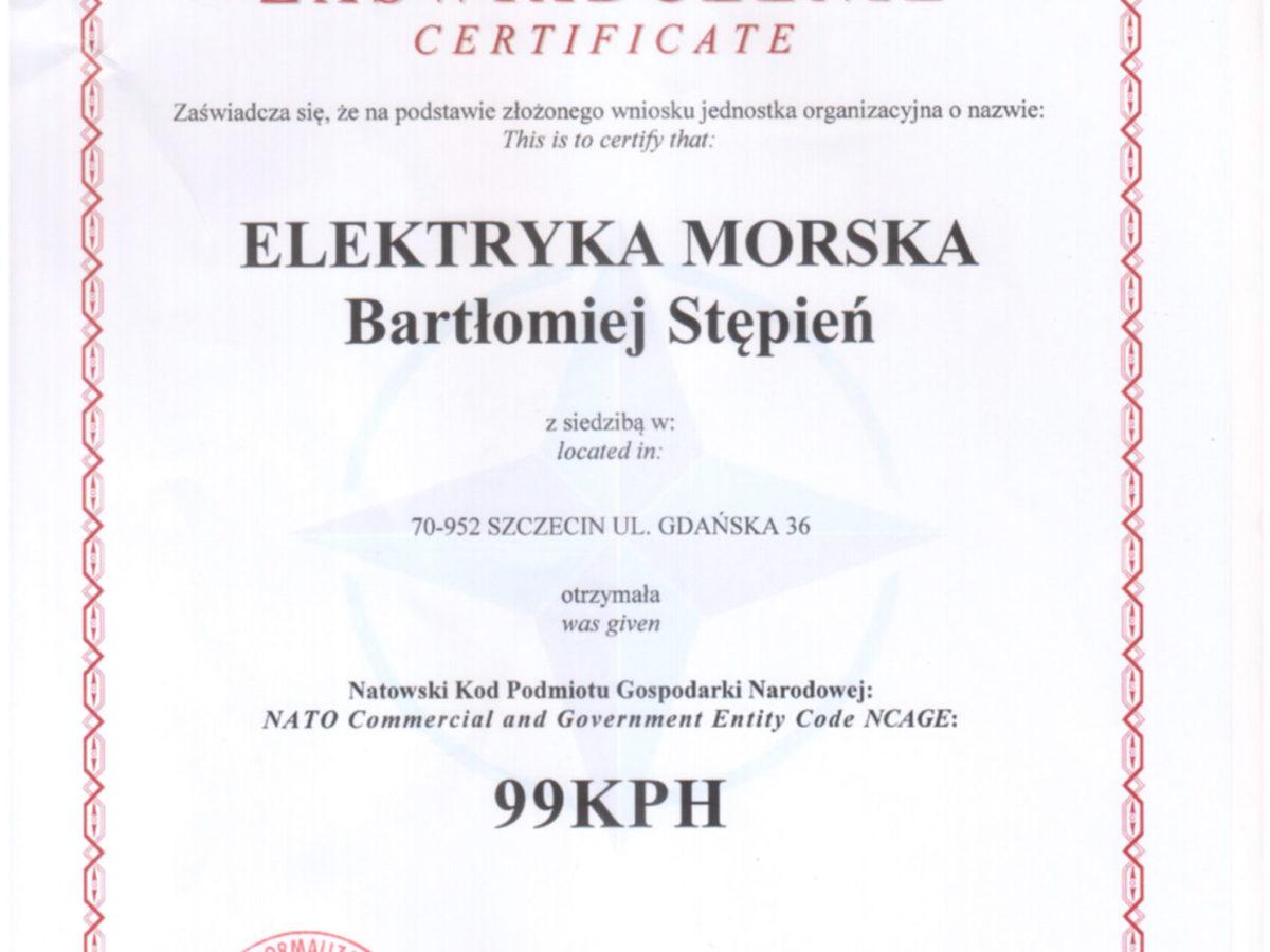 Natowski Kod NCAGE